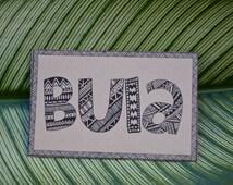 Bula Fiji Wedding Welcome Bag Labels ~ PDF