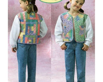 Butterick Sewing Pattern B4380 The Threadbare Childrens/Girls Jacket Used
