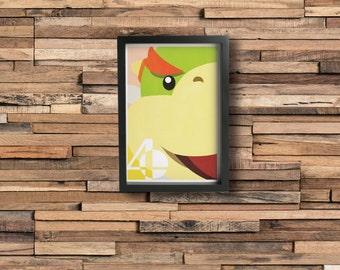BOWSER JR. poster - Inspired by Super Smash Bros.