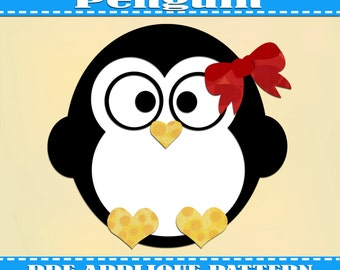 Tux - Free Penguin Project - download free penguin sewing