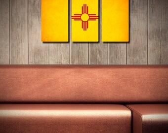 The Original New Mexico Flag Triptych