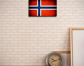 Norway Canvas Flag