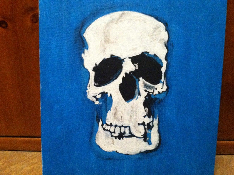 Bbc Sherlock Skull Painting