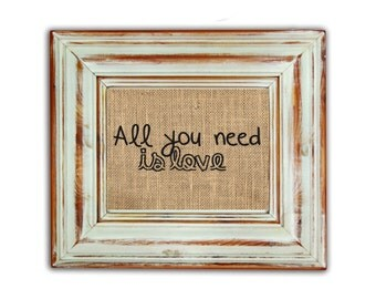 All You Need Is Love / All You Need Is Love Print / Beatles Home Decor / Beatles Print / Housewarming Gift / Love Is All You Need