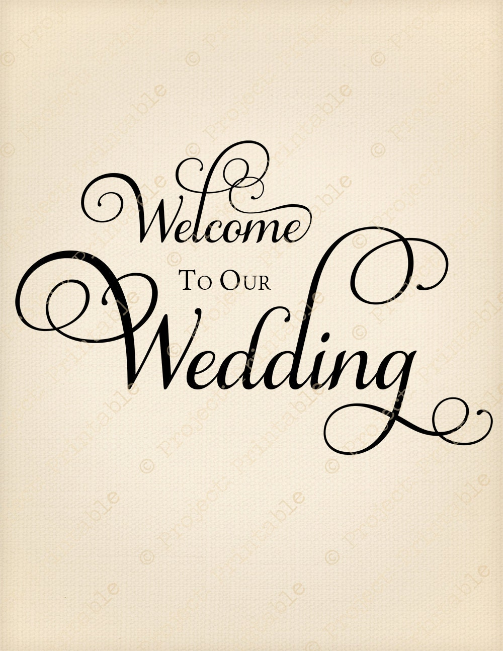 WELCOME to our WEDDING Instant Digital Download Fabric