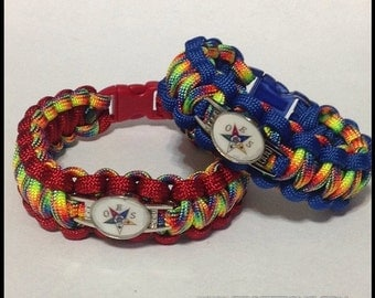OES(Order of the Eastern Star) Paracord Bracelet