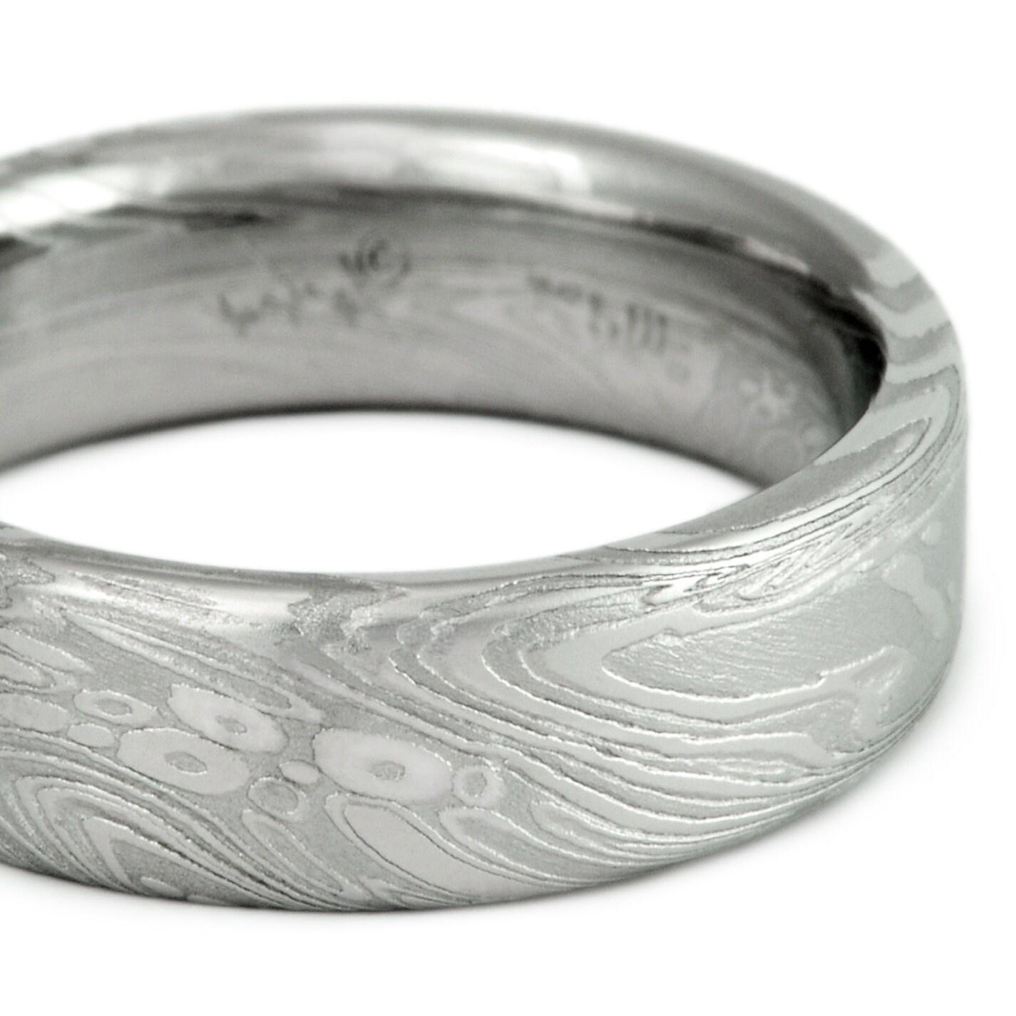 Black Zirconium Wedding Rings Indonesia