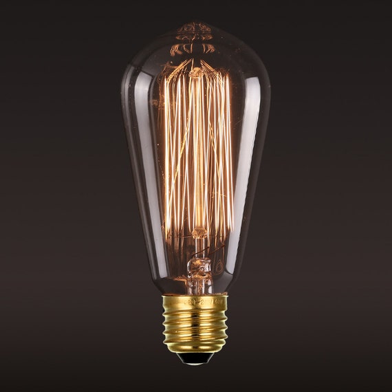 edison e27 squirrel cage filament light bulb edison bulb 110v. Black Bedroom Furniture Sets. Home Design Ideas