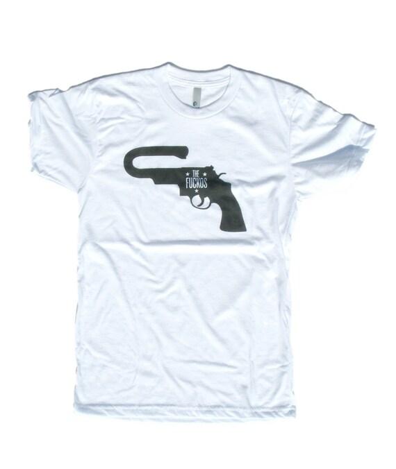 The Fuckos Motorcycle Club Gun T Shirt By Nilsdavey On Etsy