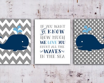 50% OFF.Whale Nursery art print  nautical decor, Whale Nursery Printable in Navy Blue and Gray,Set of 3, if you want to know how