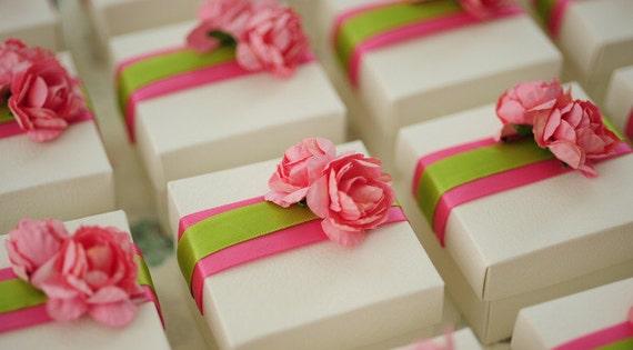 Wedding Return Gift Box : Wedding Favor Box Baby Shower box Candy Box Accessories Box Ribbons ...