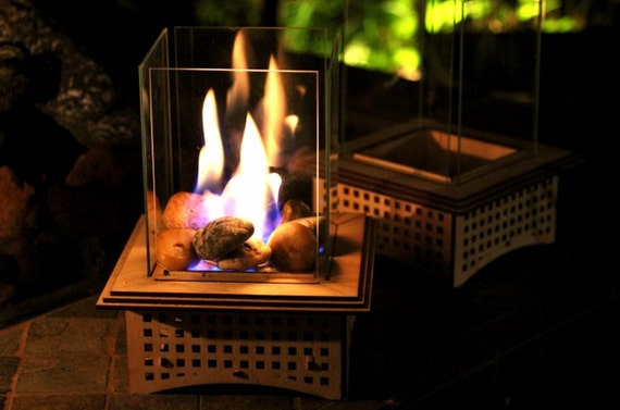 Tabletop Glass Fireplace, This indoor/outdoor lantern can add light to your  patio and - Tabletop Glass Fireplace This Indoor/outdoor Lantern Can Add