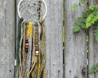 Dreamcatchers made with new & recycled material.