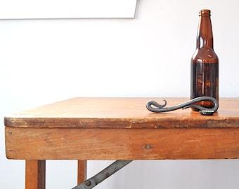 Personalized Hand Forged Bottle Opener, groomsmen gift, gift for groomsmen, for him