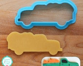 Vintage Pickup Truck Cookie Cutter & Fondant Cutter by The Painted Pastry