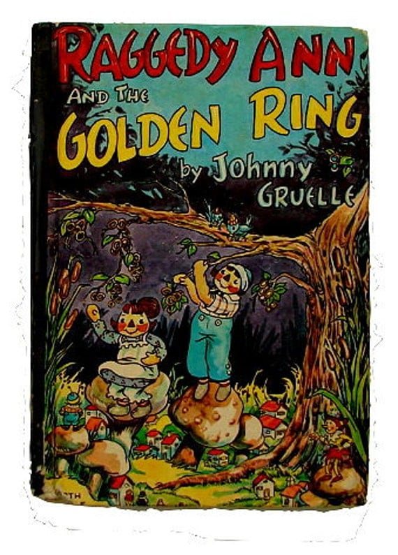 Raggedy Ann's Wonderful Witch' Johnny Gruelle Book