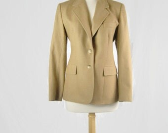 Vintage 1970s Evan-Picone Blazer Coat with ILGWU Label