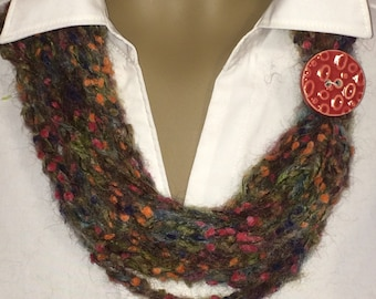 Necklace/jewelry/scarves/circle scarf/loop scarf/gifts for her/accessories/women/infinity scarf