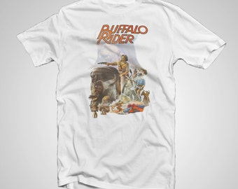 Buffalo Rider - Vintage Movie Poster Shirt