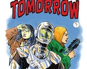 Seekers of Tomorrow #1, Comic Book, Digest Size, Science Fiction, First Edition