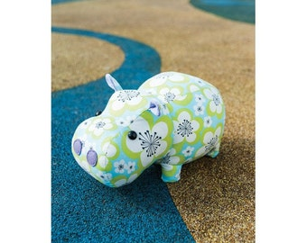 Mary the Hippo Toy Sewing Pattern 803595
