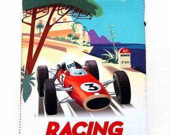 Monaco racing ipad, hard drive sleeve