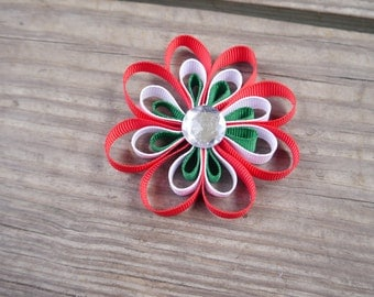 Cinco de Mayo Flower Hair Bow