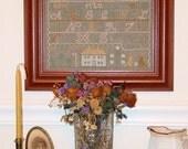 Miranda Skinner Sampler - 1811 Leaflet for Counted Cross Stitch - #42L