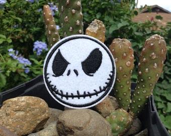 Iron on Sew on Patch:  Jack Skeleton