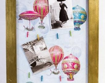 Clothespin Frame Picture Board Bulletin Board Memo