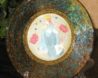 Cinderella Plates Etsy