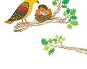 Bird & Me Notecard