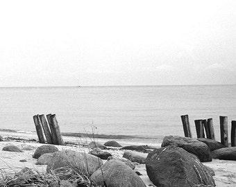 beach in Schleswig, panoramic print