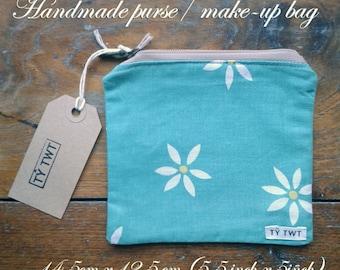 Handmade purse/ make-up bag