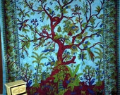 Tree of Life Wall Art hanging hippie tapestry