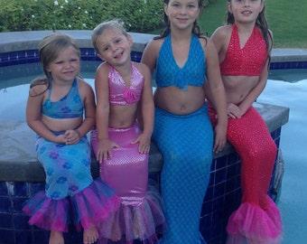 Little Girls Mermaid Costumes