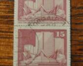 1973 East German Stamp Bookmark