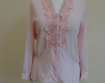 1950's Blouse - Pink Champagne