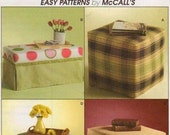 DIY OTTOMAN Sewing Pattern Trading Spaces Ottomans Foot Rest Hassock Reduced