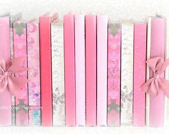 Pastel Books Photography, Pink Books Print, Romantic Books Nursery Decor, Pink Books Decor, Baby Girl Nursery Decor, Pink Books Photography