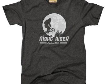 Night Rider Seattle | Bigfoot / Sasquatch T-Shirt