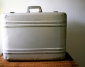 Vintage Halliburton Aluminum SuitCase Mid Century SALE
