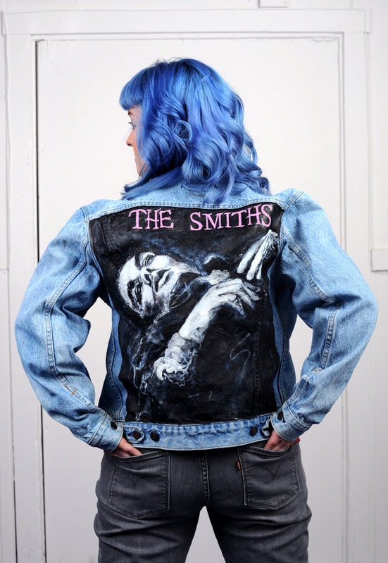 The Smiths Hand Painted On Vintage Levi S Jacket