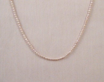 Petite Soft Pink Freshwater Pearl Necklace