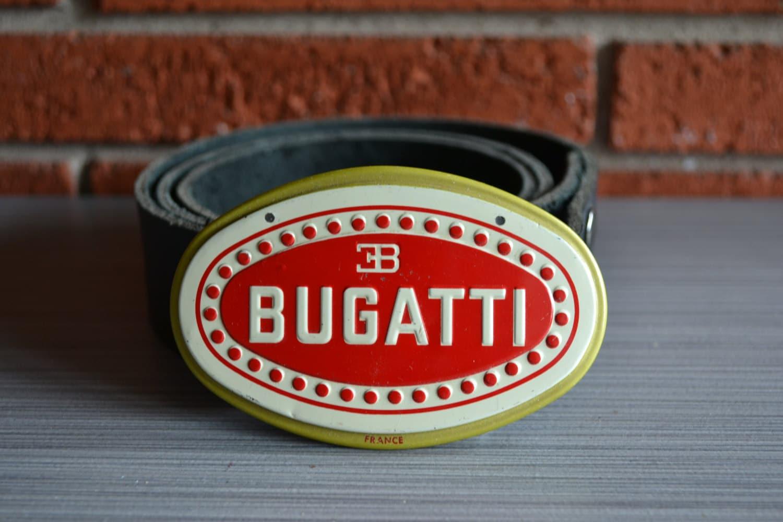 bugatti car emblem belt buckle by bearweardesigns on etsy. Black Bedroom Furniture Sets. Home Design Ideas