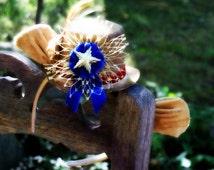 Cowardly Lion Tophat, DIY Fascinator Kit - Easy Halloween Fun