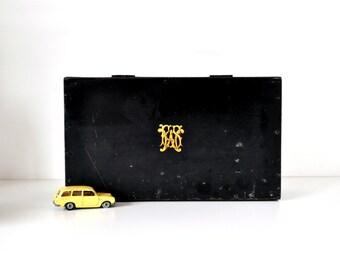 Monogrammed Gentleman's Dresser Box