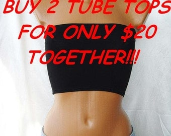 TUBE TOP Yoga TOP Fitness Pilates Tank Bandeau Sport Summer Bandeau Bralette Underwear Bra Tube Strapless Top In Black Bandeau Bow Tube Tops