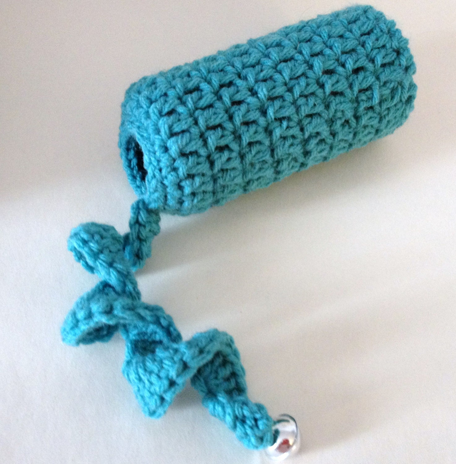 Crochet cat toy kitten toy two sizes assorted by for How to crochet cat toys