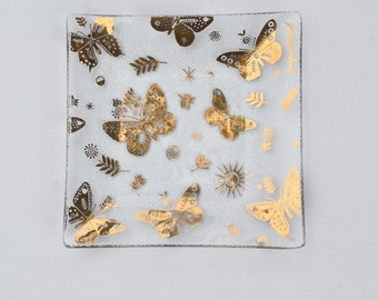 George Briard butterfly dish